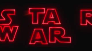 Stranger Things Style Intro -  Star Wars