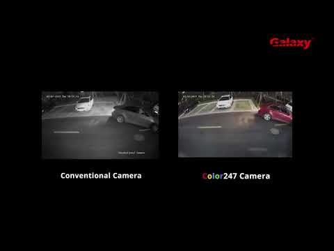 Galaxy Color247 Camera vs Conventional Camera