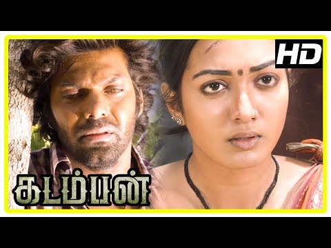 Kadamban Tamil Movie | Arya learns the truth and finds his people | Catherine Tresa