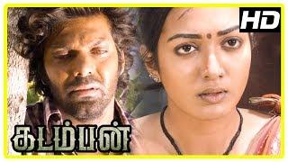 Kadamban Tamil Movie | Arya learns the truth and finds his people | Catherine Tresa