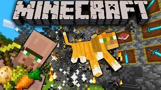 Minecraft 1.8 Snapshot: Villagers Farm/Craft, X-Ray Cheat Fix, Particles, Buttons, Auto-Wither Golem