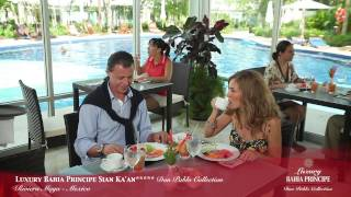 El hotel Luxury Bahia Principe Sian Ka'an está rodeado de naturaleza y belleza, y ubicado en preciosas villas de tres alturas. Ven y encuentra tu lugar en el ...