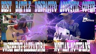 ( Despacito ) Josephine Alexandra Vs Novian Novifans || Guitar Cover || THE BEST COVER OF DESPACITO