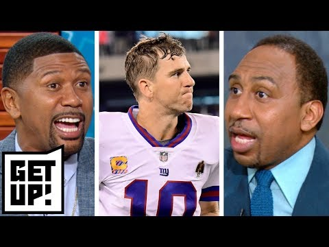 Jalen, Stephen A. dissect the Giants' future after Eli Manning's poor game vs. Eagles | Get Up!