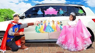 Video 보람이의 공주드레스 파티놀이 Boram is going to the princess party MP3, 3GP, MP4, WEBM, AVI, FLV Mei 2019