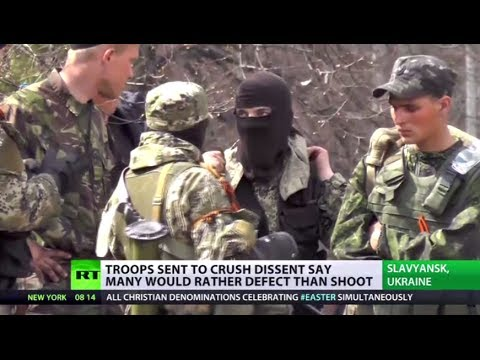Using - One of the reasons Kiev's putting its faith in the loyalty of its new National Guard, is arguably because morale within army units is wavering - with some so...