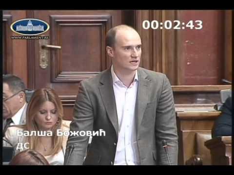 Балша Божовић о амандманима на измене Закона о јавном информисању и медијима