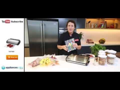 Use the Sunbeam VS7800 FoodSaver Vacuum Sealer to preserve a delicious steak - Appliances Online