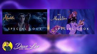 Disney's ALADDIN - Special Look Trailer (2019 vs 1992) Comparison Shot By Shot
