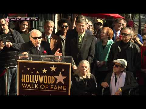 Paul Mazursky Walk of Fame Ceremony