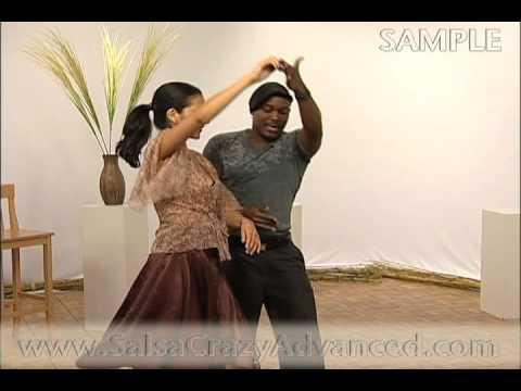 Учимся танцевать сальсу - комбинация в стиле Нью-Йорк