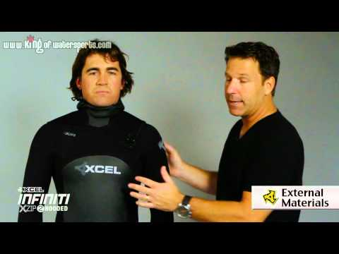 xcel - Xcel 6x5x4 Infiniti X Zip 2 Hooded Wetsuit 2013 Available at: https://www.kingofwatersports.com/item.do?item=30377&path=xcel-6x5x4-infiniti-x-zip-2-wetsuit-2...