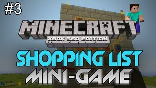 "Minecraft: Xbox 360 - ""Shopping List"" W/ AciDic BliTzz&Friends - Part 3 ""MAKING THEM DEALS"""