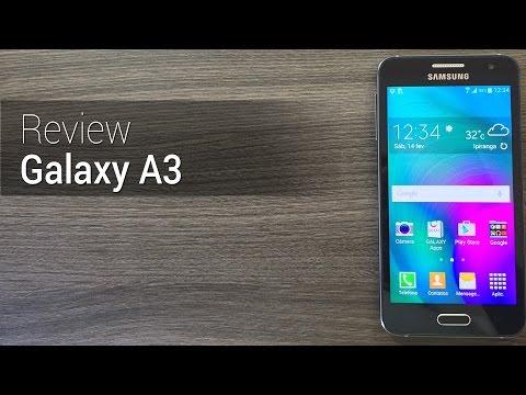 Análise: Samsung Galaxy A3  Review do Tudocelular.com