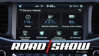 2017 Hyundai Ioniq Electric loves Android Auto by Roadshow
