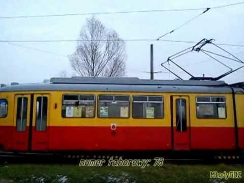 Grudziądz: Pożegnanie ostatniego wagonu Düwag 6zGtw nr 78