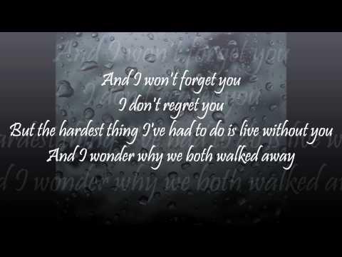 Julia Sheer - The Hardest Thing with lyrics