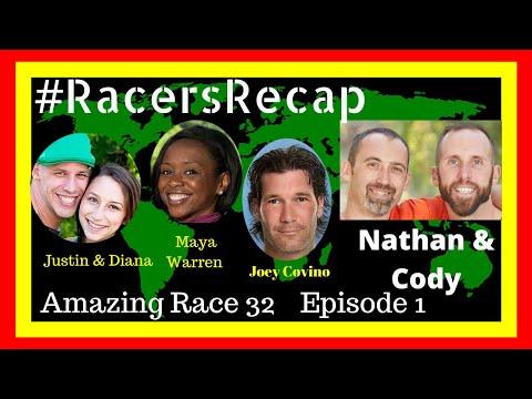 Amazing Race Season 32 Episode 1 with Nathan and  Cody #RacersRecap