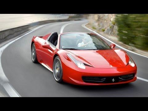 458 Spider Ferrari Maranello Ad