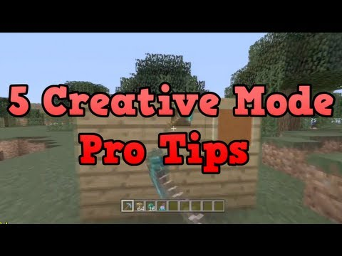 Minecraft Xbox 360 – 5 Creative Mode Pro Tips
