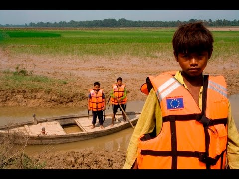 Preparing for floods in Nepal