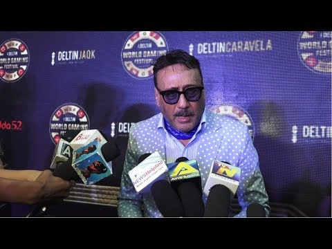 Jackie Shroff Talks About The Games Which He Used To Play The Most At Launch Of Deltin World Gaming