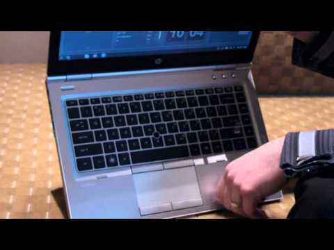 HP EliteBook 8460p Hands-on Overview