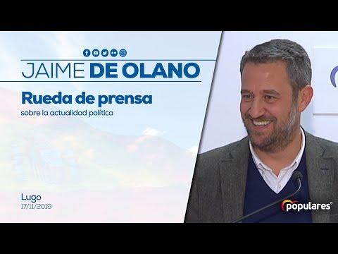 """De Olano: """"Hemos asistido al mayor ejercicio de tr..."""