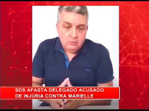 [RONDA GERAL] SDS afasta delegado acusado de injúria contra Marielle