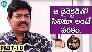 Sivaji Raja Exclusive Interview Part#10 || Frankly With TNR || Talking Movies With iDream
