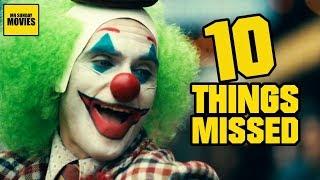 Joker 2019 Trailer Breakdown  - Easter Eggs & Things Missed