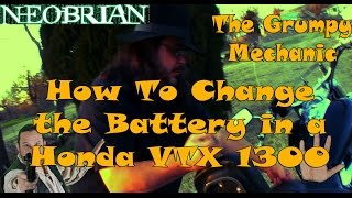 7. 2003-2009 Honda VTX 1300: How to Install the Battery - The Grumpy Mechanic