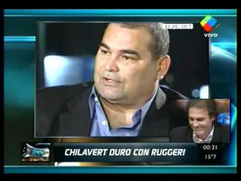 Ruggeri le contesta a Chilavert. Segunda parte
