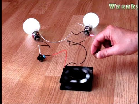 Free Energy Magnet Motor fan as Free Energy Generator