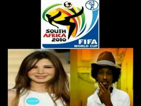 K'naan Ft Nancy Ajram   waving Flag aduun com  Arabic version    FiFa world cup 2010