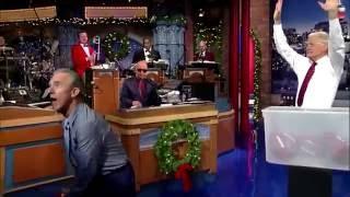 Jay Thomas Letterman Holiday Football Challenge Dec 2014