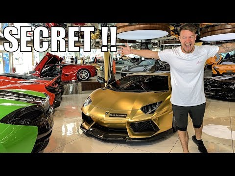 The SECRET SUPERCARS For Sale in Dubai!!