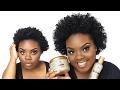 Chunky Twist Out Tutorial on Short 4C Natural Hair | JOYNAVON