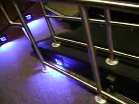 coolbluelights - Recorded on March 24, 2012) Here are some cool looking blue lights at the orchestra rehearsal, I first went there October 15, 2011 and I saw something that l...