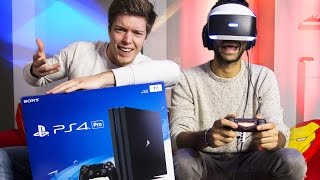 Test de la PlayStation 4 Pro - VR Edition