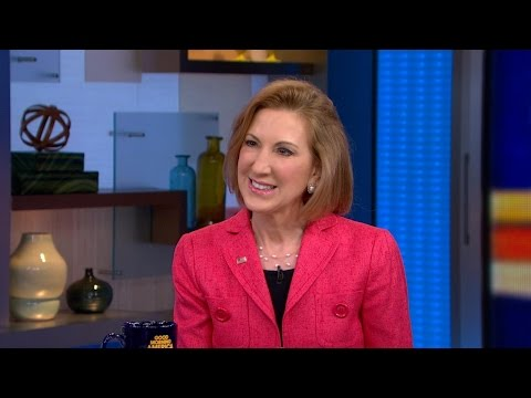 Video: Carly Fiorina Announces Run on GMA; Ready to Take on Hillary