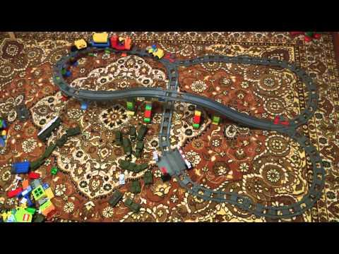 Большой поезд Lego (Лего) на