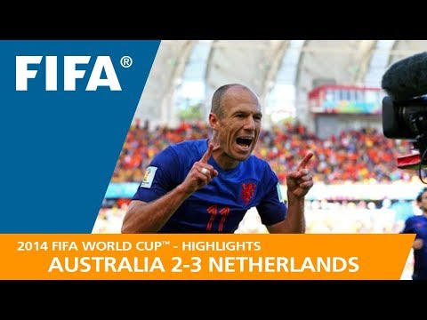 AUSTRALIA v NETHERLANDS (2:3) - 2014 FIFA World Cup™ (видео)