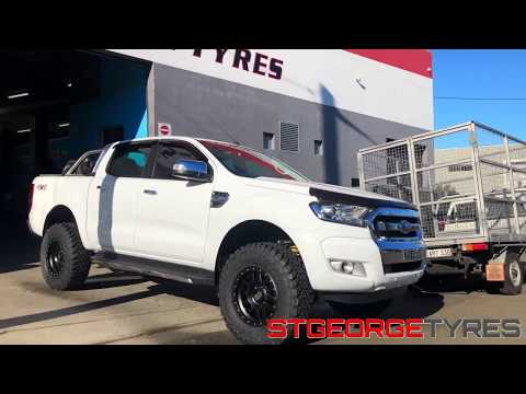 KMC MACHETTE WHEELS UNBOXING FORD RANGER FITMENT TOYO MUD TYRES - ST GEORGE TYRES