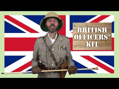 British Officers' Kit