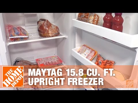 Maytag 15.8 Cu. Ft. Upright Freezer - The Home Depot