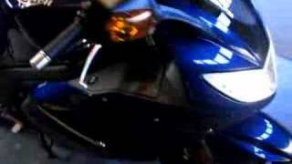 6. 2008 Triumph Sprint ST 1050 running