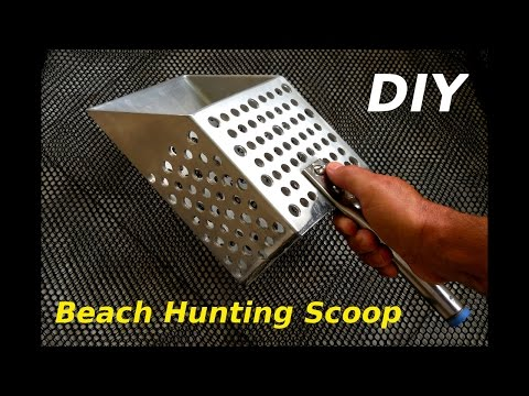 DIY Metal Detecting Treasure Scoop
