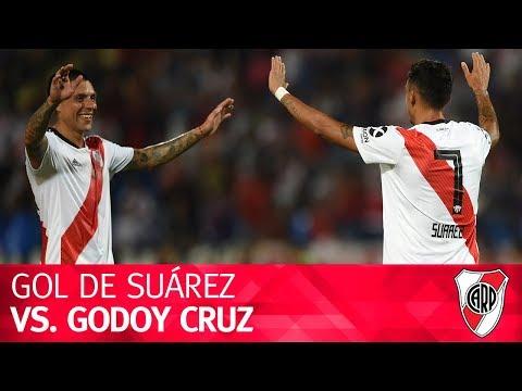 Gol de Matías Suárez vs. Godoy Cruz