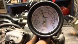 5. KTM 2003 525 EXC - Motor PSI test